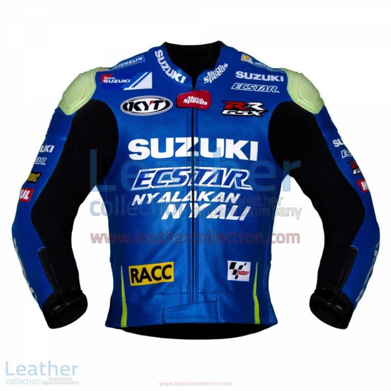 Aleix Espargaro Suzuki 2016 MotoGP Racing Jacket | racing jacket,Aleix Espargaro Suzuki 2016 MotoGP Racing Jacket