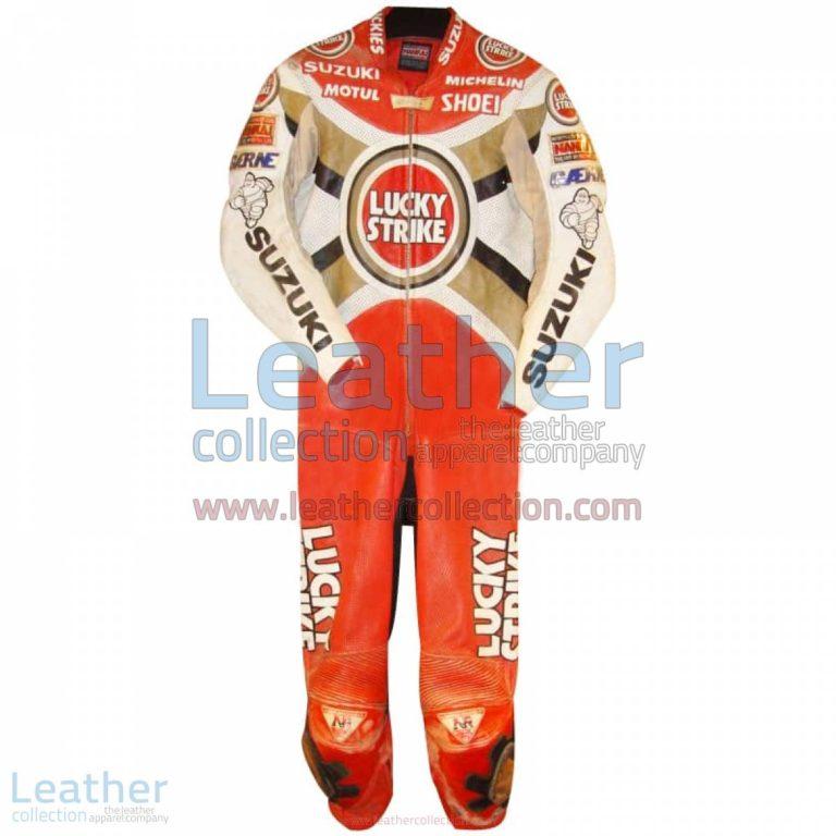 Alex Barros Suzuki Lucky Strike 1994 MotoGP Leathers   motogp leathers,alex barros