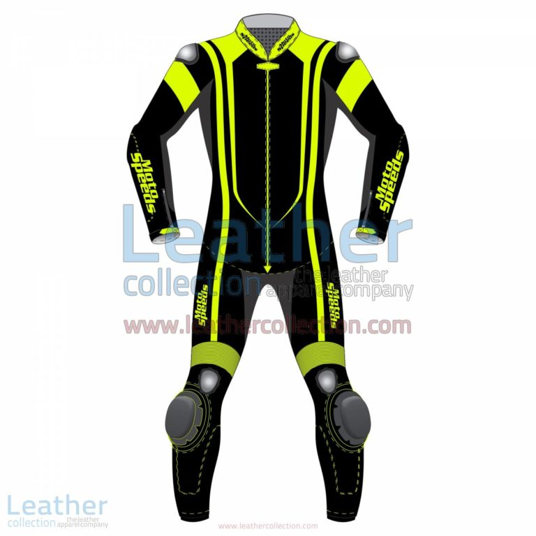 Alpha Neon Leather Motorbike Suit | motorcycle suit,leather motorcycle suit