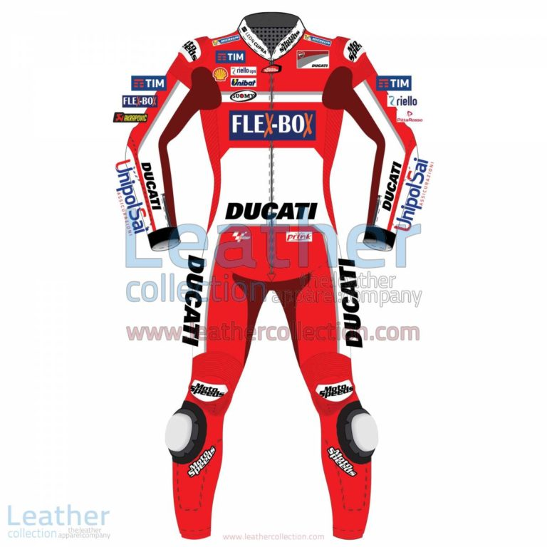 Andrea Dovizioso Ducati MotoGP 2017 Leather Suit | Andrea Dovizioso,Ducati leather suit