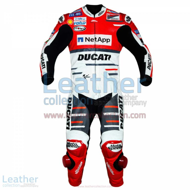 Andrea Dovizioso Ducati MotoGP 2018 Leather Suit | Ducati leather suit,Andrea Dovizioso Ducati MotoGP 2018 Leather Suit
