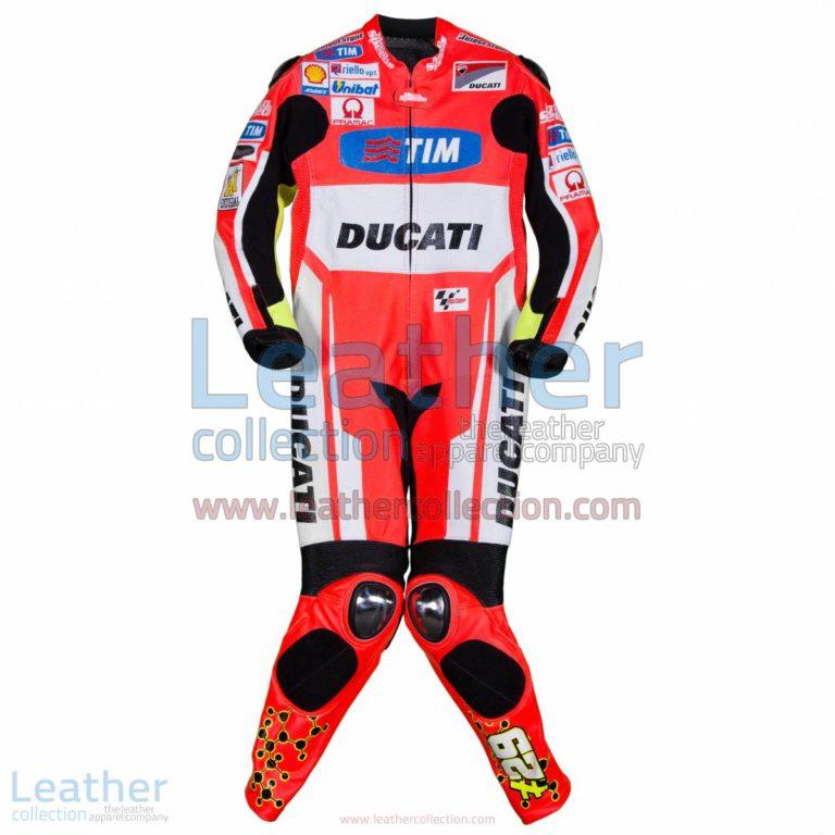 Andrea Iannone Ducati MotoGP 2015 Racing Suit | Andrea Iannone,Ducati racing suit