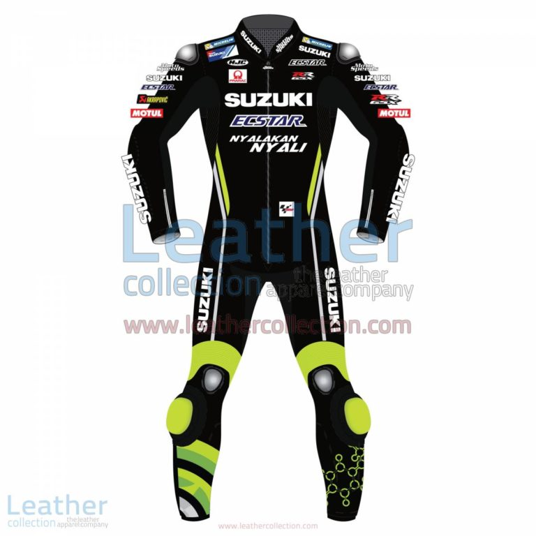 Andrea Iannone Suzuki MotoGP 2018 Leather Suit Black | andrea iannone,Andrea Iannone Suzuki MotoGP 2018 Leather Suit Black