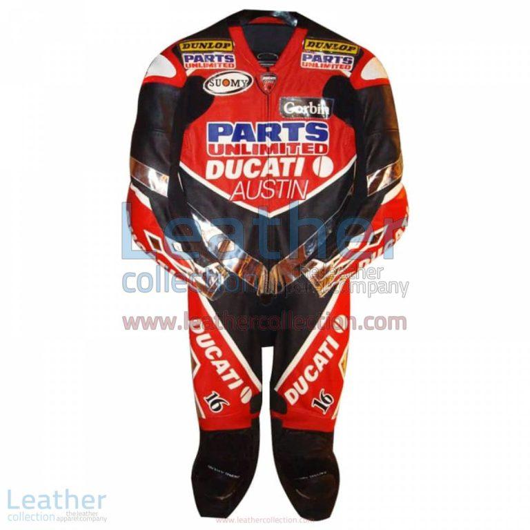Anthony Gobert Austin Ducati 2003 AMA Race Suit   race suit,ducati race suit