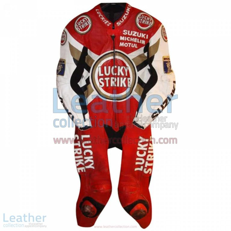 Anthony Gobert Suzuki Lucky Strike 1997 MotoGP Leathers | anthony gobert,motogp leathers
