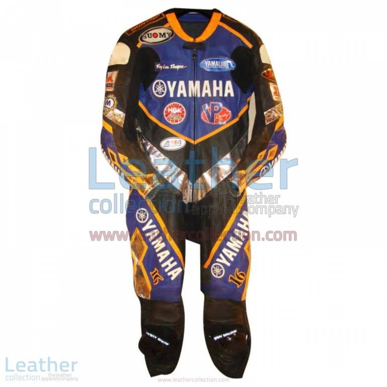 Anthony Gobert Yamaha Leathers 2002 AMA | anthony gobert,yamaha leathers