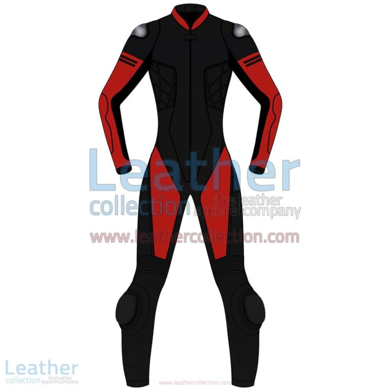 Bi Color One-Piece Motorbike Leather Suit For Women | motorcycle Suit,Bi Color One-Piece motorcycle Leather Suit For Women