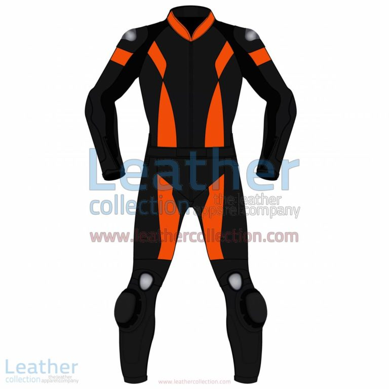 Bi Color Two-Piece Motorbike Leather Suit For Men | Two Piece motorcycle Suit,Bi Color Two-Piece motorcycle Leather Suit For Men