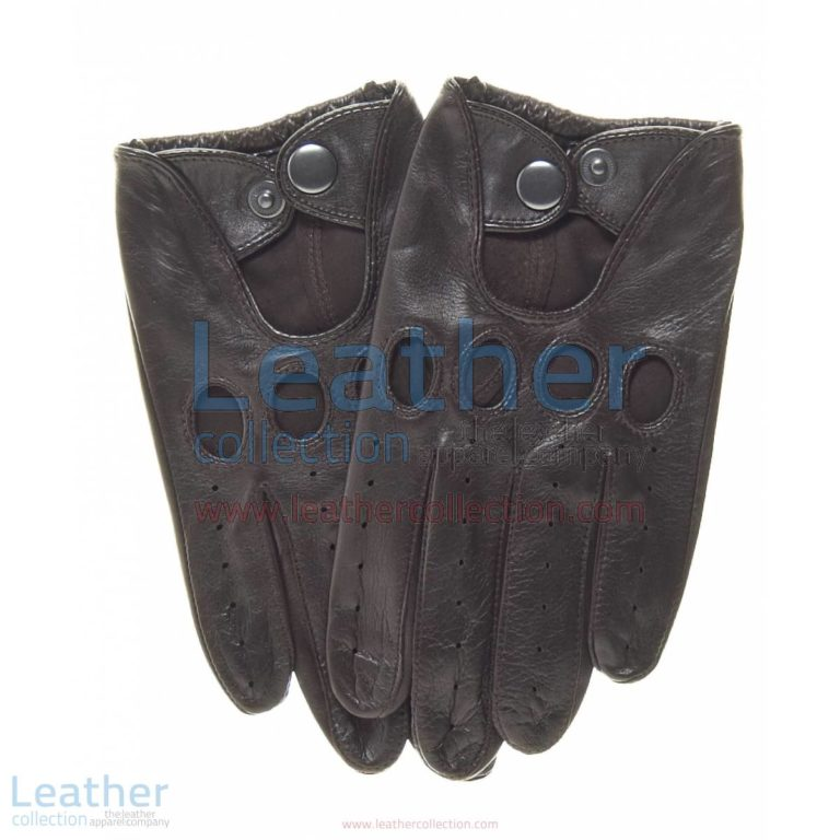 Brown Leather Fashion Driving Gloves | brown leather driving gloves,fashion driving gloves