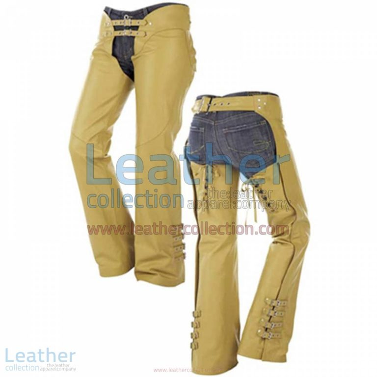 Buckles on Legs Leather Cowboy Chaps | cowboy chaps,leather cowboy chaps