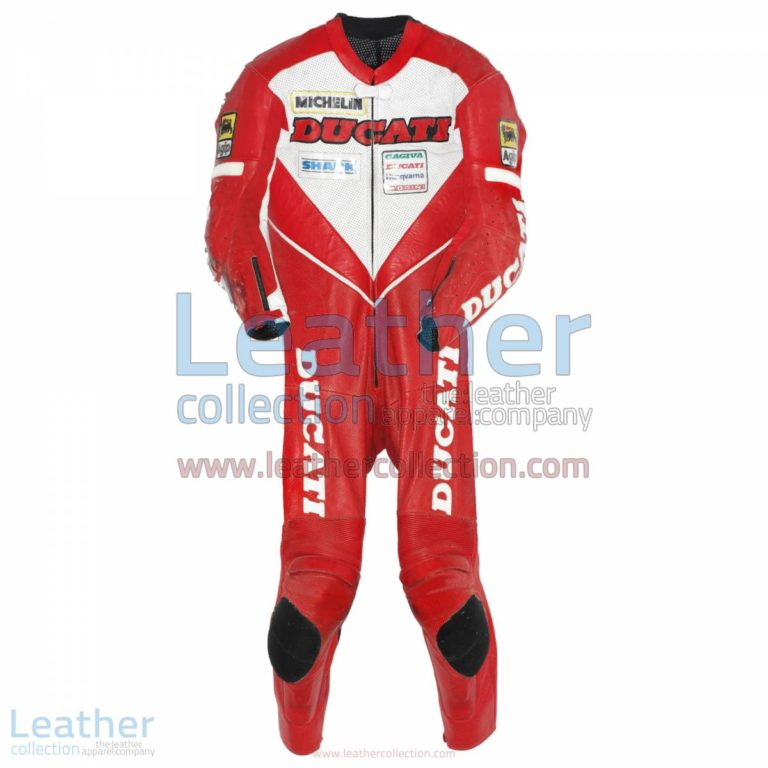 Carl Fogarty Ducati WSBK 1995 Leather Suit | ducati clothing,ducati leather suit