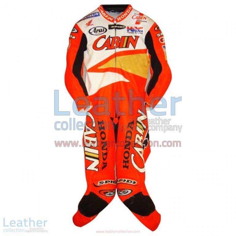 Colin Edwards Honda Leathers 2002 Suzuka 8 Hours | colin edwards,honda leathers