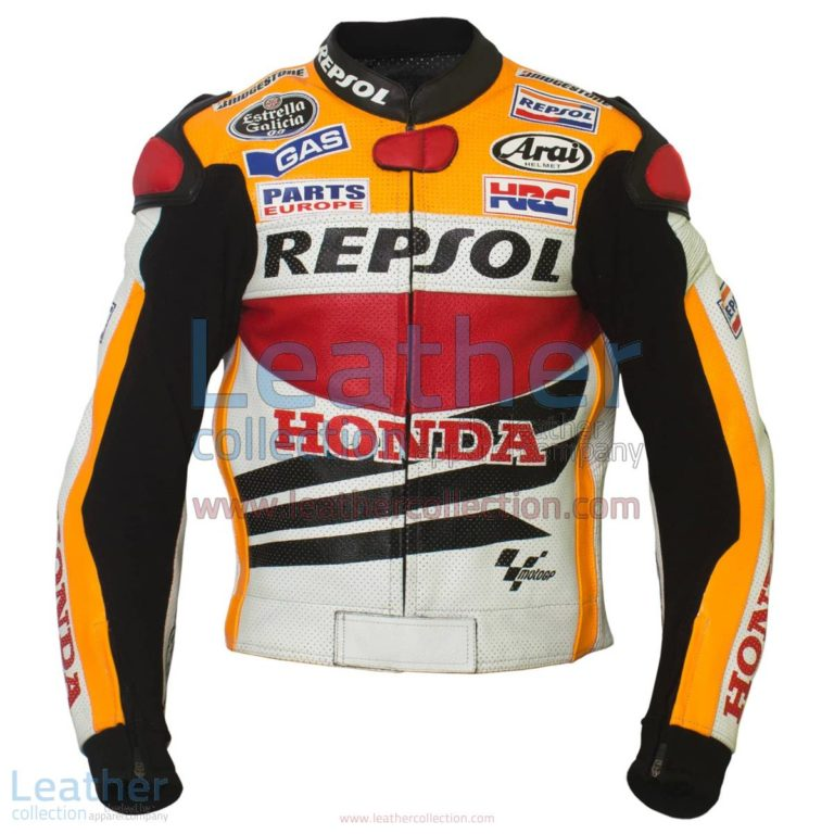 Dani Pedrosa Honda Repsol 2013 Motorcycle Jacket   motorcycle jacket,Honda Repsol jacket