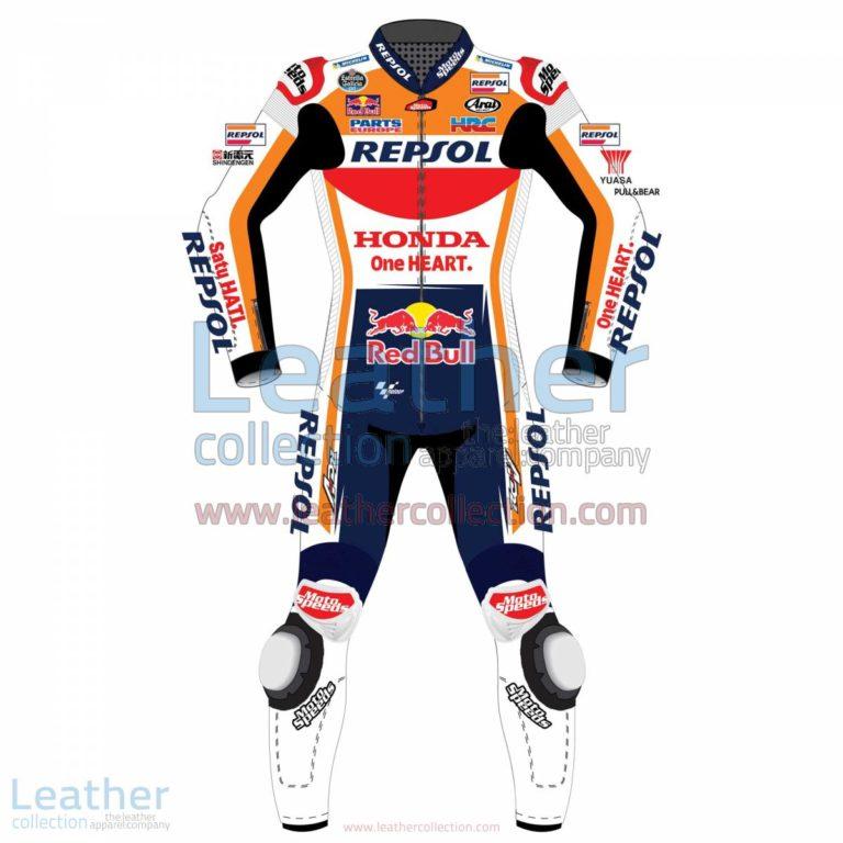 Dani Pedrosa HRC Honda Repsol MotoGP 2017 Race Suit | Dani Pedrosa,Dani Pedrosa HRC Honda Repsol MotoGP 2017 Race Suit