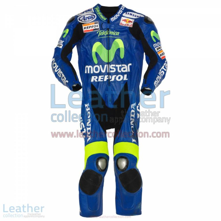 Dani Pedrosa Movistar Honda GP 2005 Leathers | dani pedrosa,honda leathers