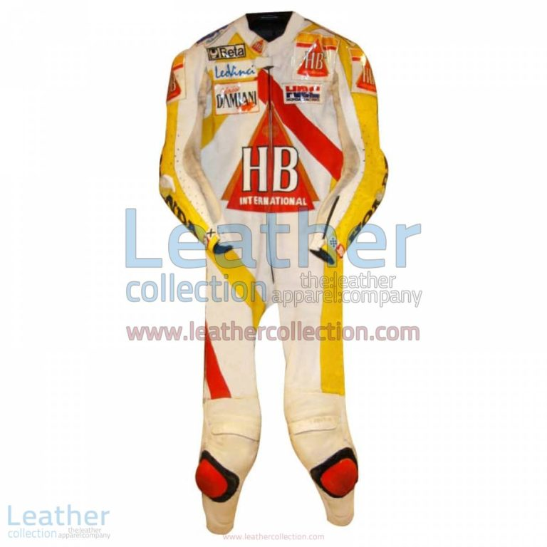 Doriano Romboni Honda HB Race Suit 1994 GP | race suit,honda race suit