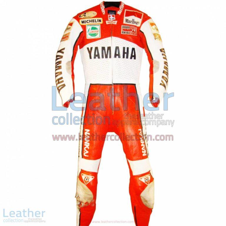 Freddie Spencer Marlboro Yamaha GP 1989 Leathers | yamaha apparel,yamaha leathers