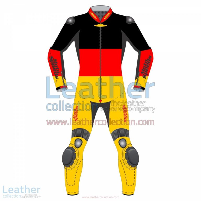 German Flag Motorcycle Racing Suit | racing suits,motorcycle racing suit