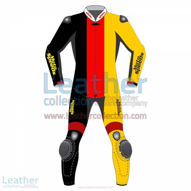 Germany Vertical Flag Motorcycle Suit | race suits,motorcycle suit