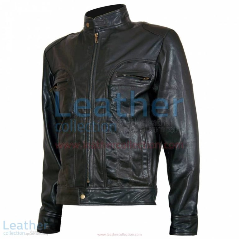 "Ghosts of Girlfriends Past ""Matthew"" Leather Jacket 