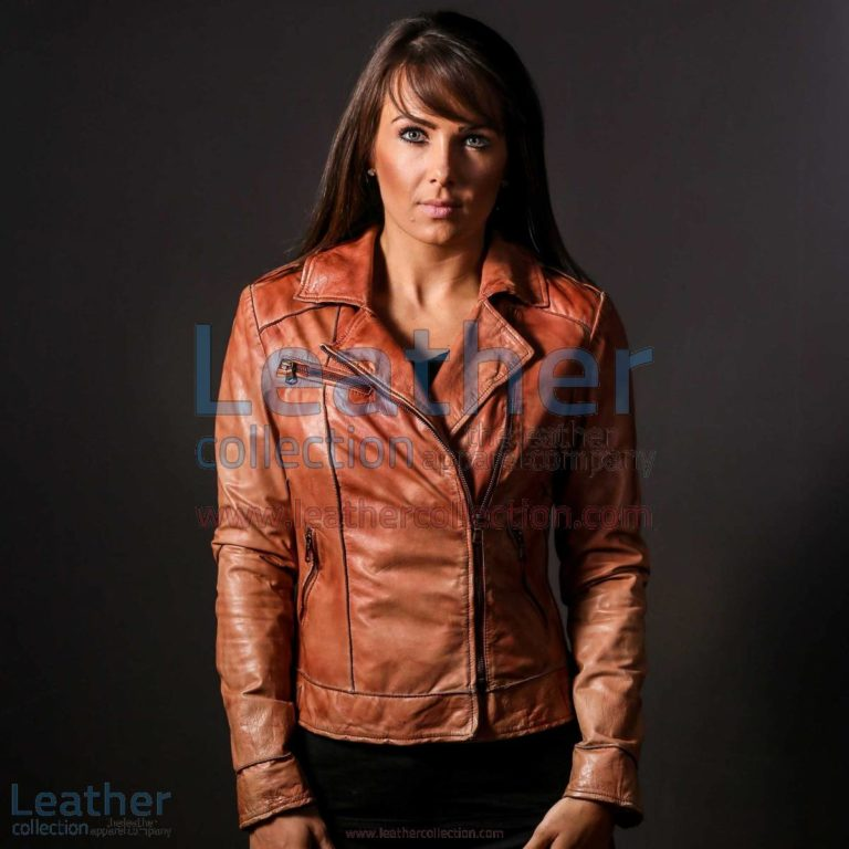 Ginger Leather Jacket for Women | leather jacket for women,ginger jacket