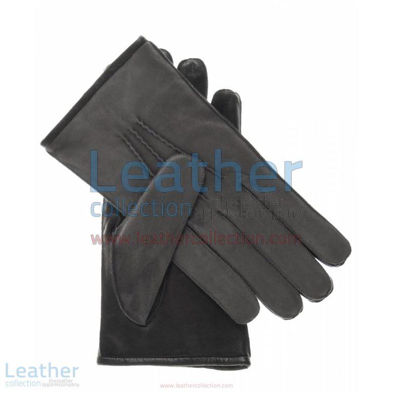 Grey Suede and Lambskin Gloves | suede gloves,grey suede gloves