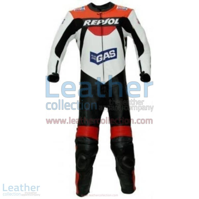 Repsol Gas Racing Leather Suit | repsol racing,leather suit