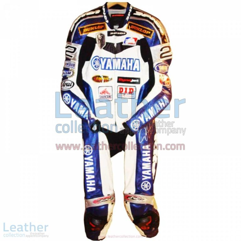 Jamie Hacking Yamaha AMA 2005 Motorcycle Suit | yamaha clothing,yamaha motorcycle suit