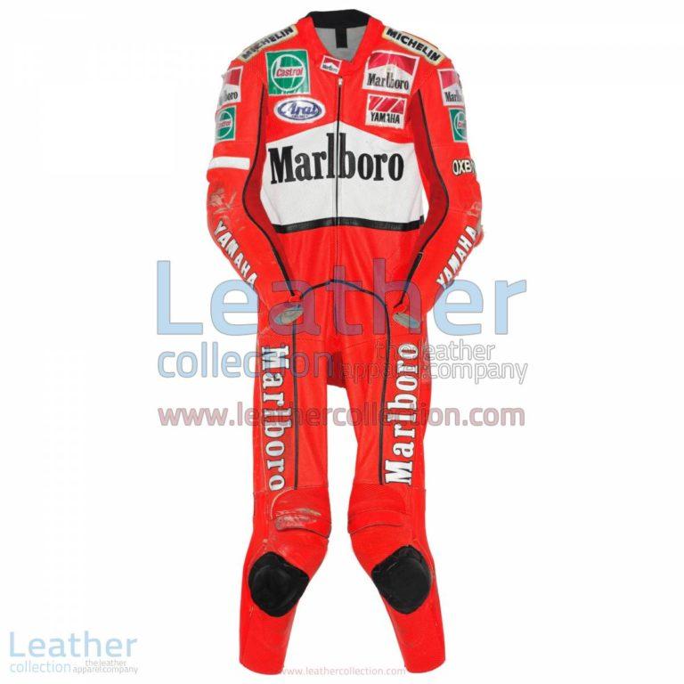 Jean Michel Bayle Marlboro Yamaha GP 1996 Suit | marlboro yamaha,yamaha suit