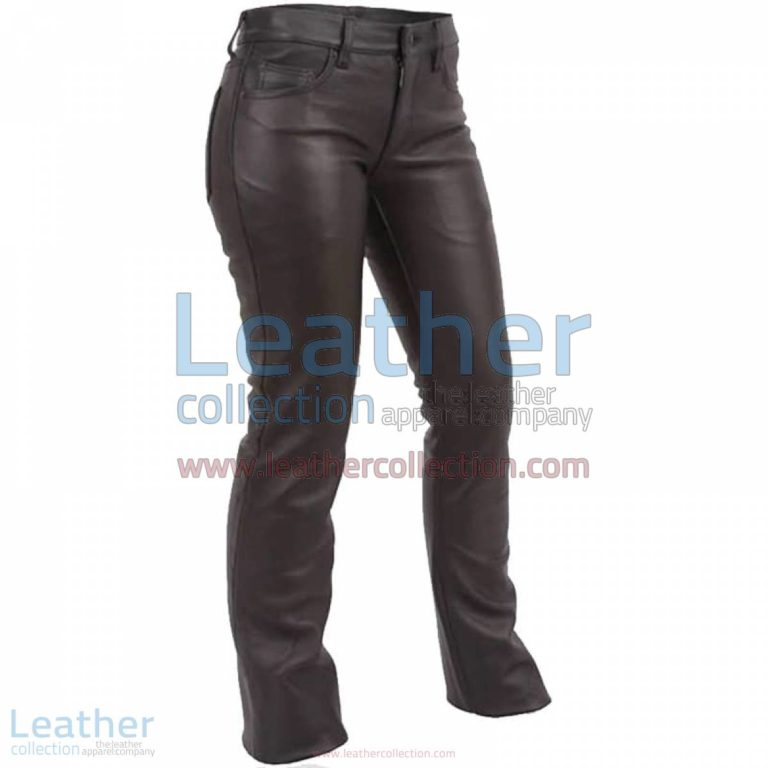 Jeans Style Low Rise Leather Pants | low rise pants,low rise leather pants
