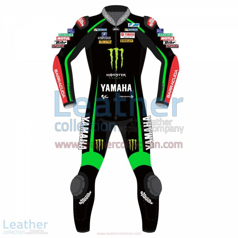 Johan Zarco Yamaha Monster Tech 3 2017 Leather Suit | Zarco,Johan Zarco Yamaha Monster Tech 3 2017 Leather Suit