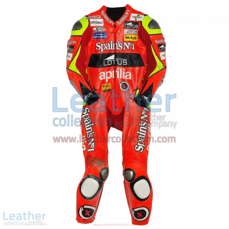 Jorge Lorenzo Aprilia GP 2007 Leather Suit | leather suit,aprilia