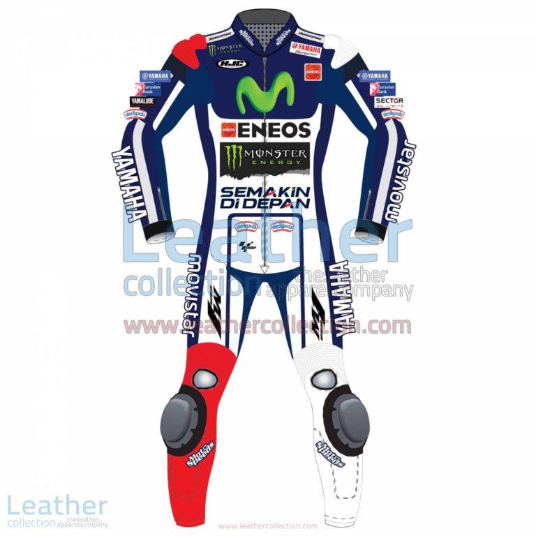 Jorge Lorenzo Movistar Yamaha MotoGP 2015 Leathers | yamaha leathers,Jorge Lorenzo leathers