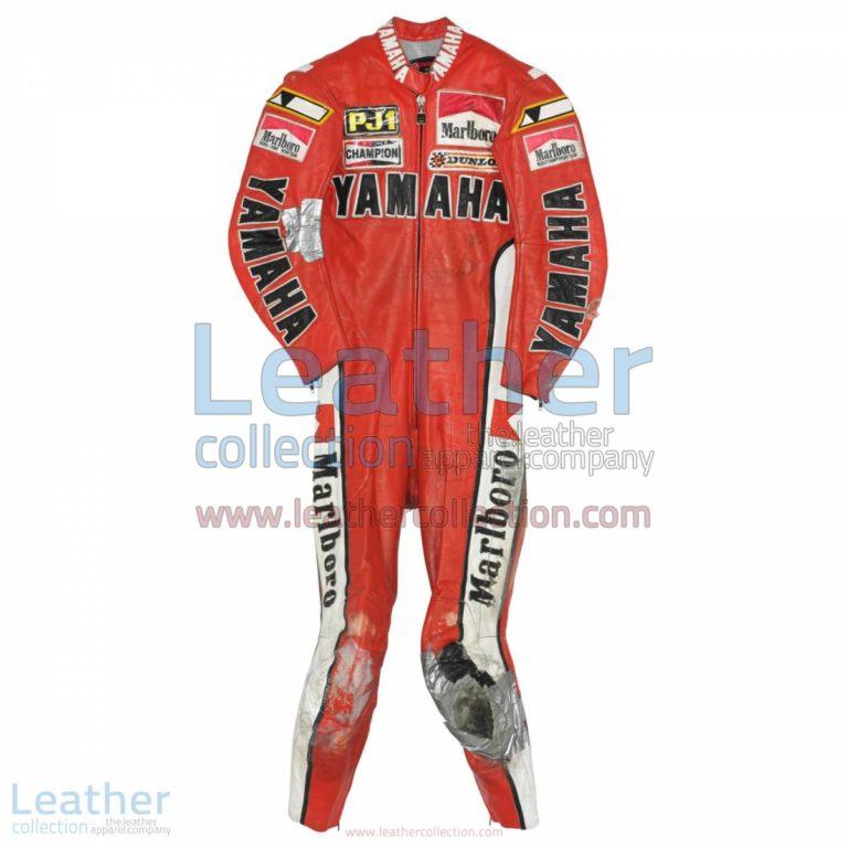 Kenny Roberts Yamaha GP 1979 Leathers | yamaha clothing,yamaha leathers