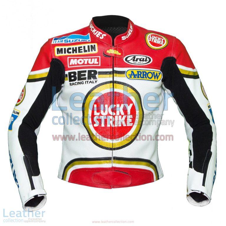 Kevin Schwantz Lucky Strike Suzuki 1993 Jacket | Custom Tailored Jackets,Suzuki Jacket