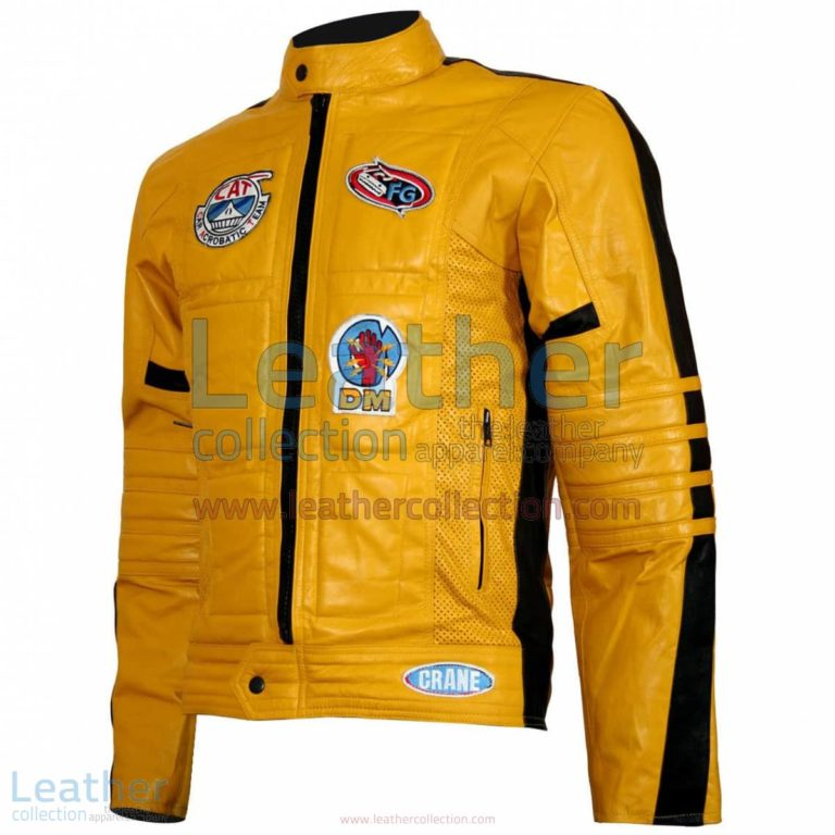 Kill Bill Movie Women Leather Jacket | kill bill jacket,women leather jacket