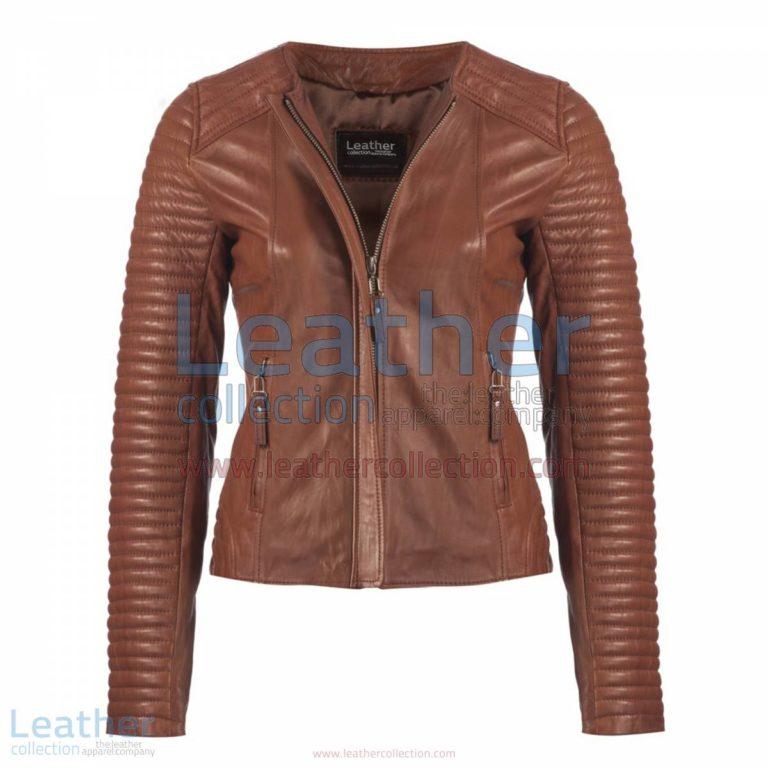 Ladies Legacy Leather Jacket Brown | leather jackets,legacy jacket