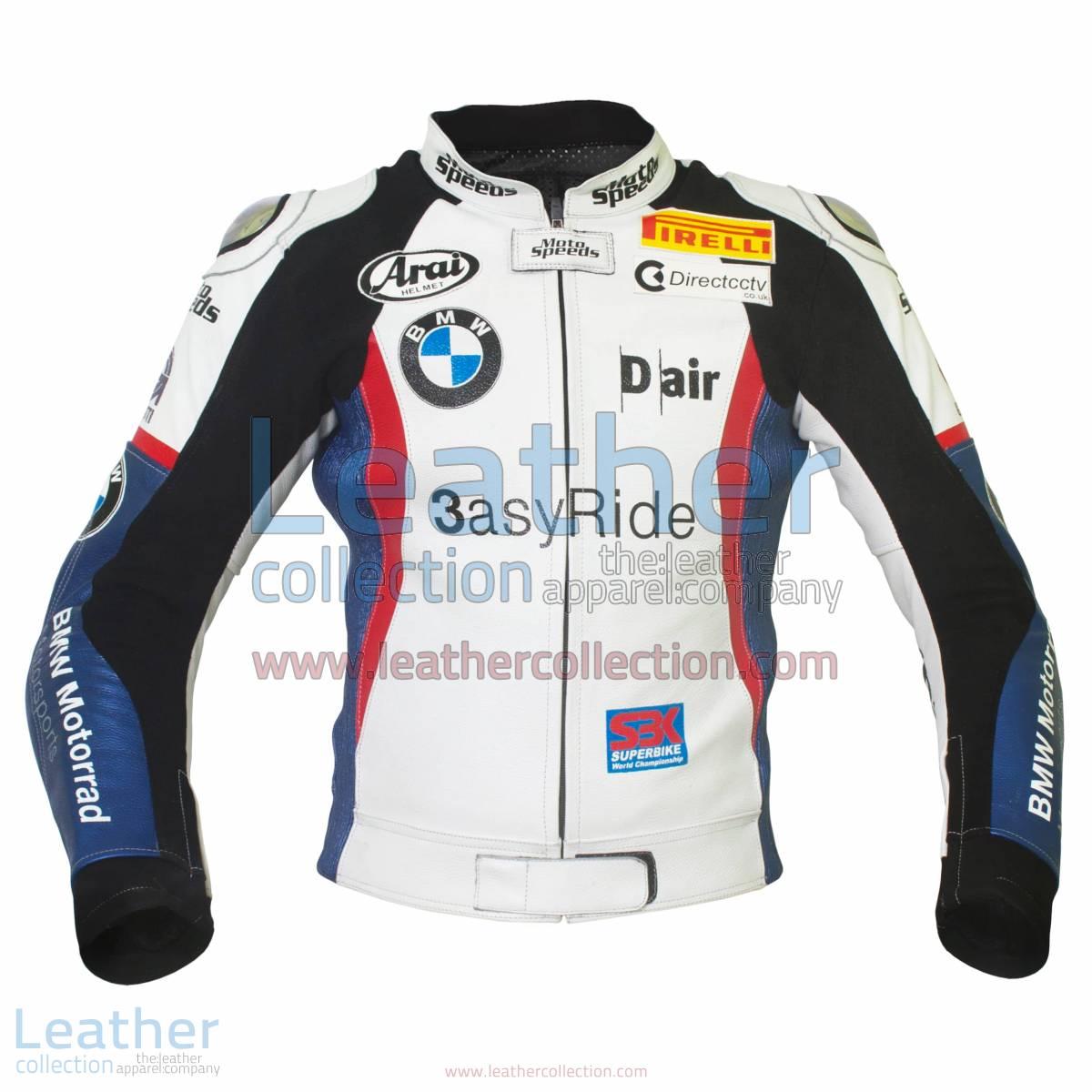 Leon Haslam BMW Motorcycle Jacket