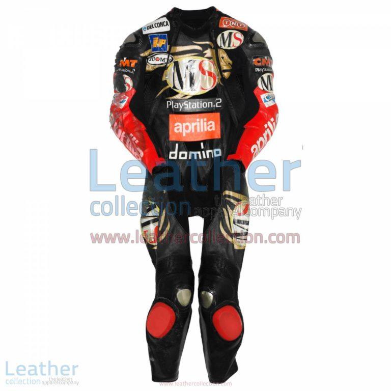 Manuel Poggiali Aprilia GP 2003 Leather Suit | leather suit,aprilia