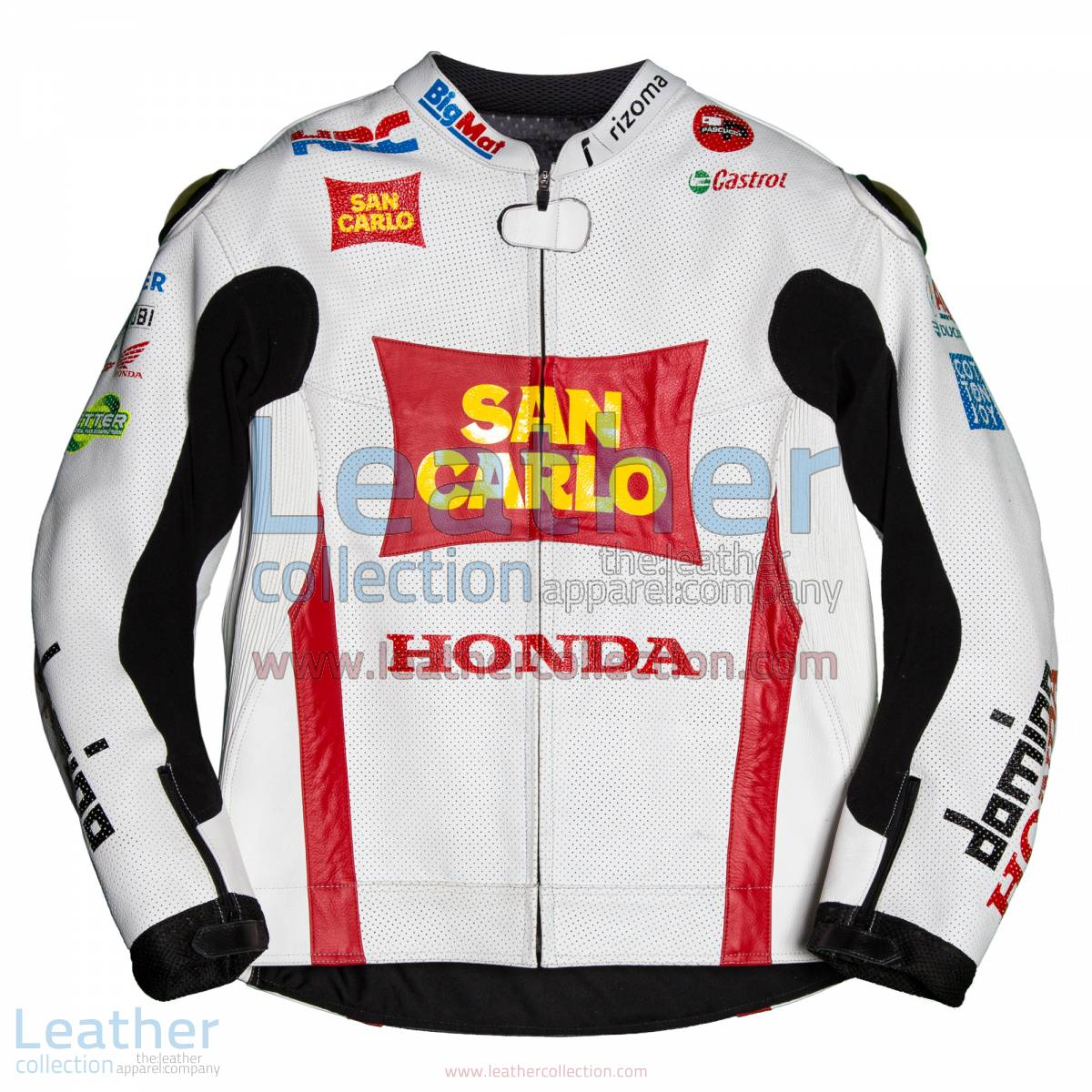 Marco Simoncelli Honda 2011 MotoGP Jacket | marco simoncelli,Marco Simoncelli Honda 2011 MotoGP Jacket