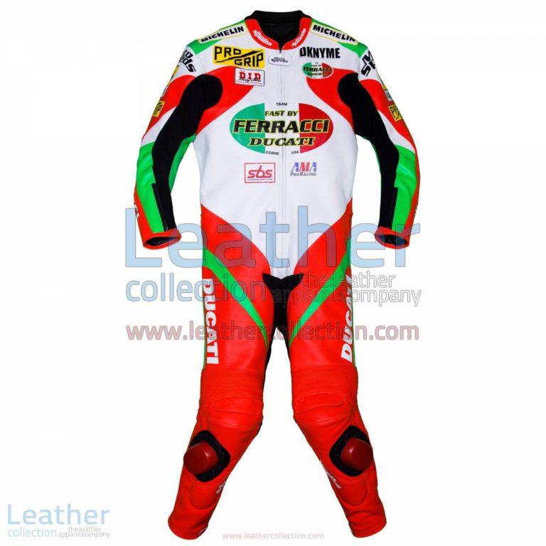 Mat Mladin Ducati AMA Race Suit | ducati apparel,ducati race suit