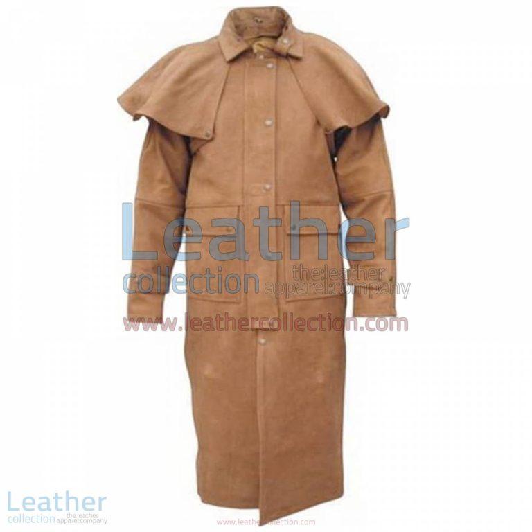 Men's Brown Duster Coat   brown duster coat,men's duster coat