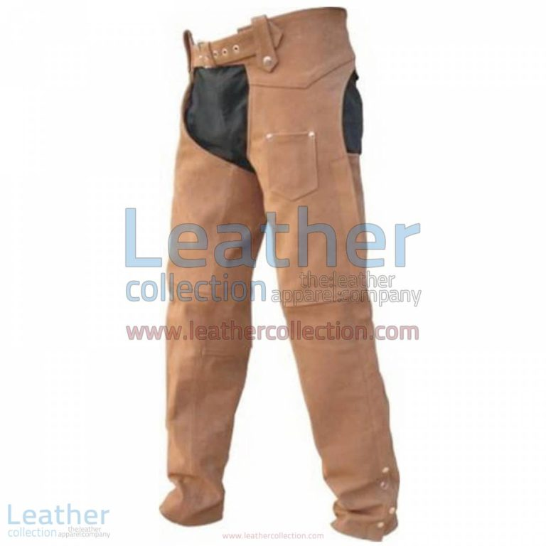 Men's Leather Riding Braided Chaps | braided chaps,leather riding chaps