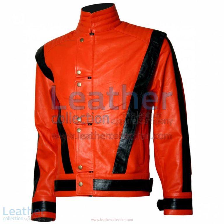 Michael Jackson Thriller Leather Jacket | thriller leather jacket,michael jackson jacket