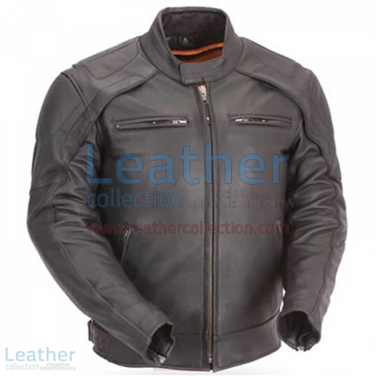 Motorcycle Reflective Piping & Vented Jacket | vented jacket,piping jacket
