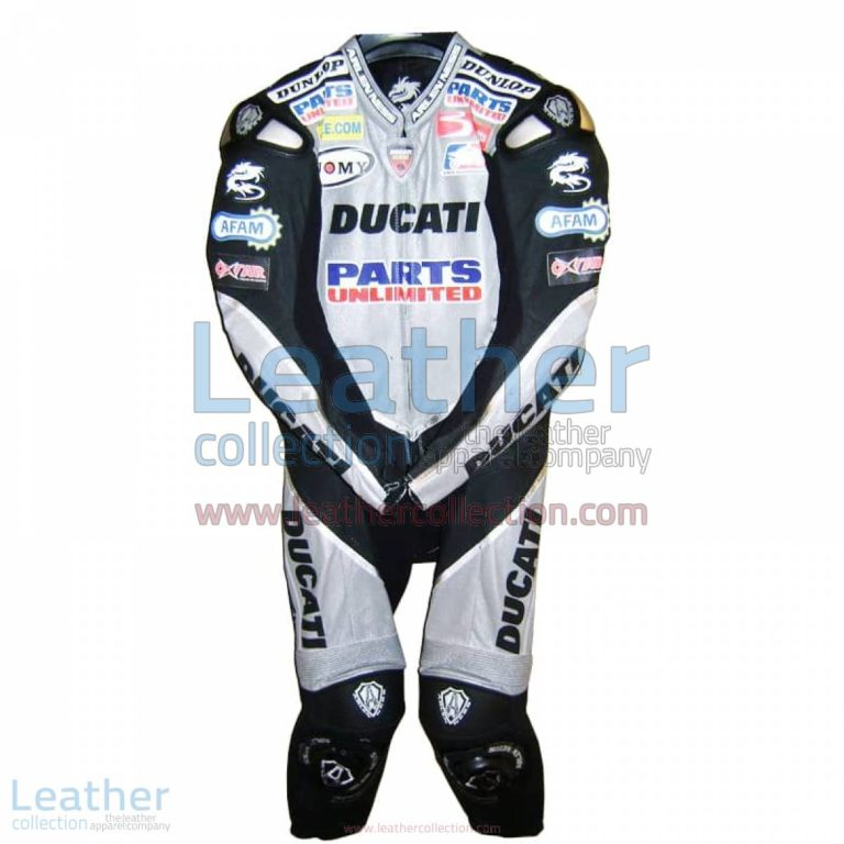 Neil Hodgson Ducati AMA 2006 Leather Suit | leather suit,ducati leather suit