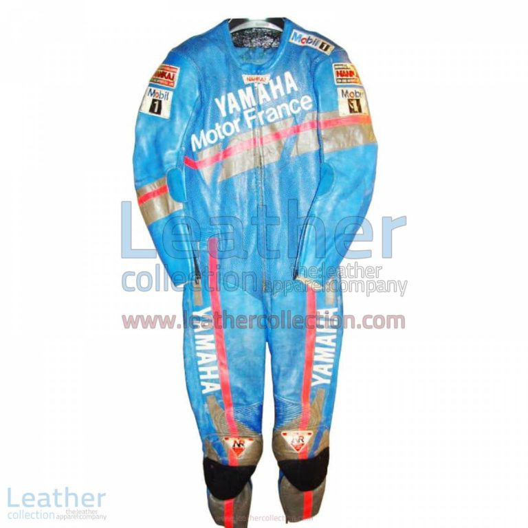 Niall Mackenzie Yamaha GP 1991 Leathers | yamaha racing apparel,yamaha leathers