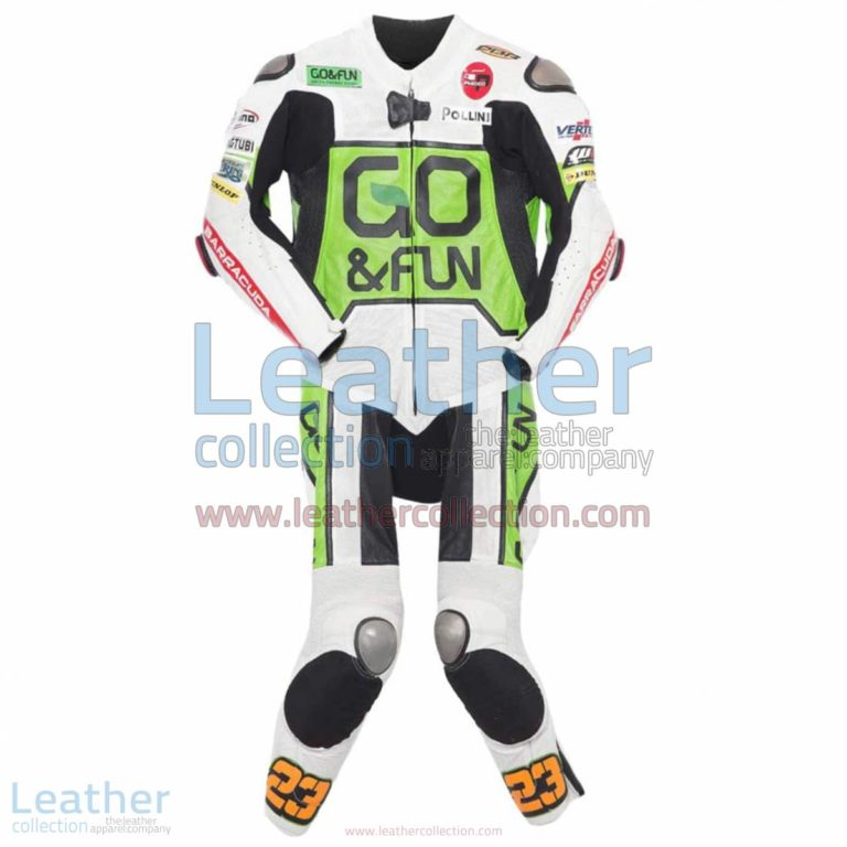 Niccolo Antonelli 2014 Moto3 Motorbike Suit | moto racing,motorcycle suit