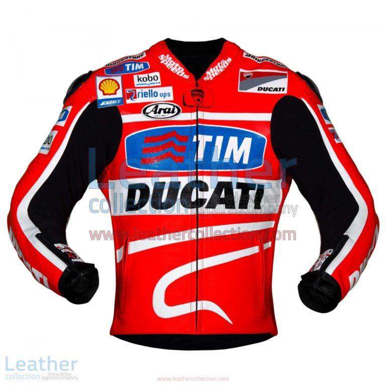 Nicky Hayden 2013 MotoGP Ducati Leather Jacket   Ducati Leather jacket,Nicky Hayden jacket
