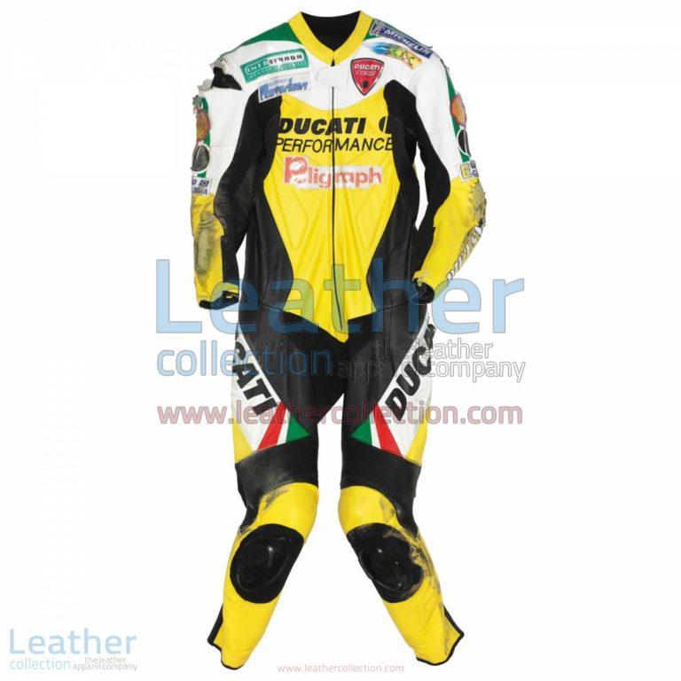 Paolo Casoli Ducati AMA Supersport 1999 Suit | custom racing suits,ducati suit